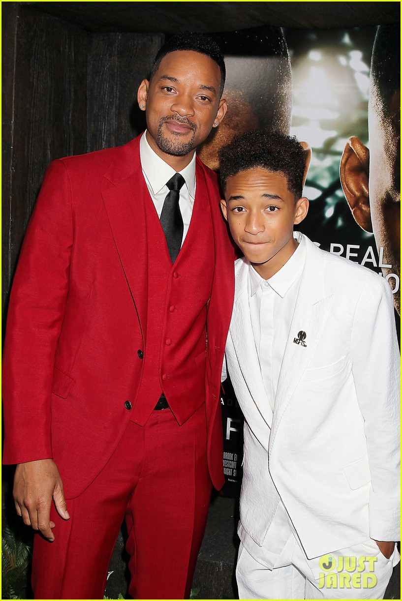 jada will smith after earth premiere with willow jada trey 022880263