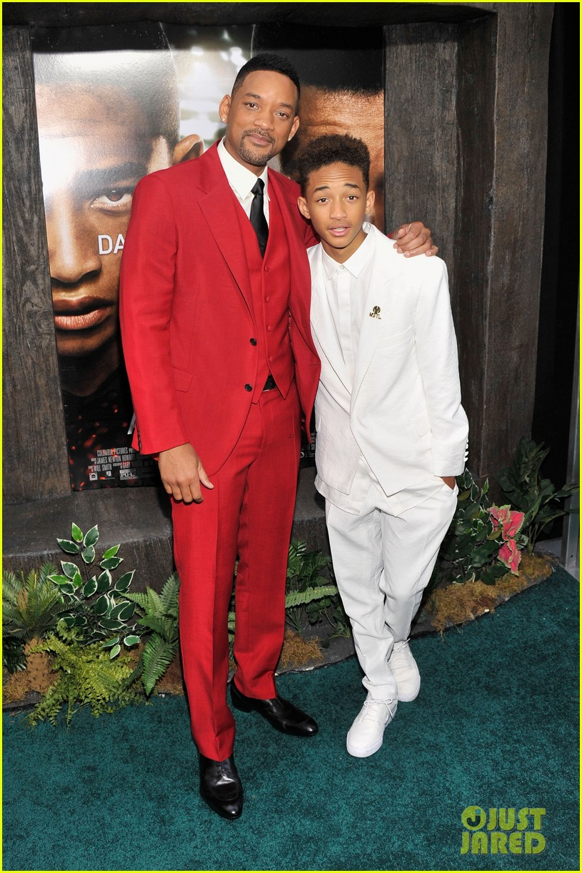 jada will smith after earth premiere with willow jada trey 062880267