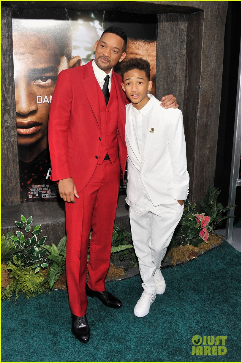 jada will smith after earth premiere with willow jada trey 082880269