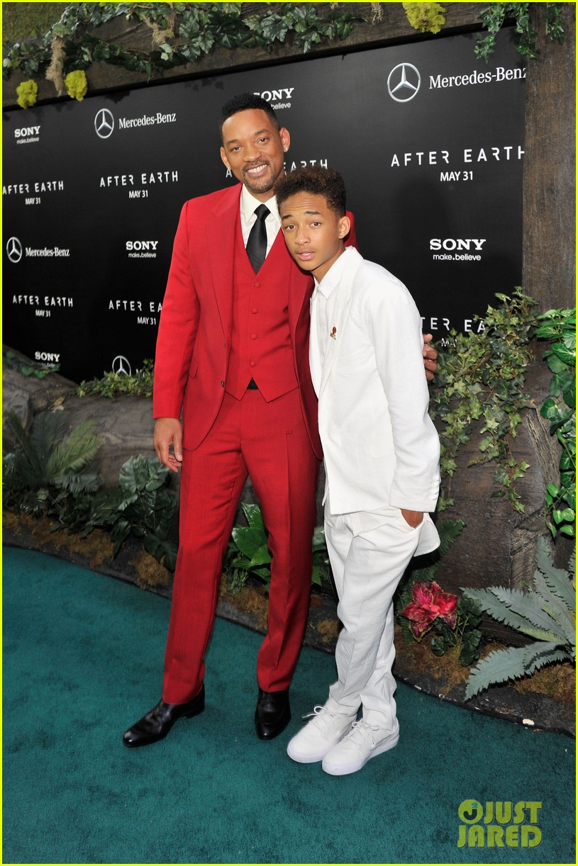 jada will smith after earth premiere with willow jada trey 102880271