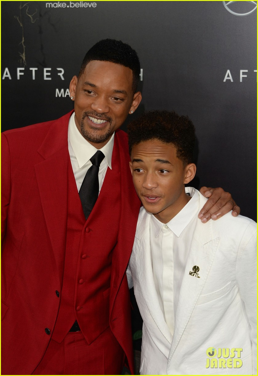 jada will smith after earth premiere with willow jada trey 212880282