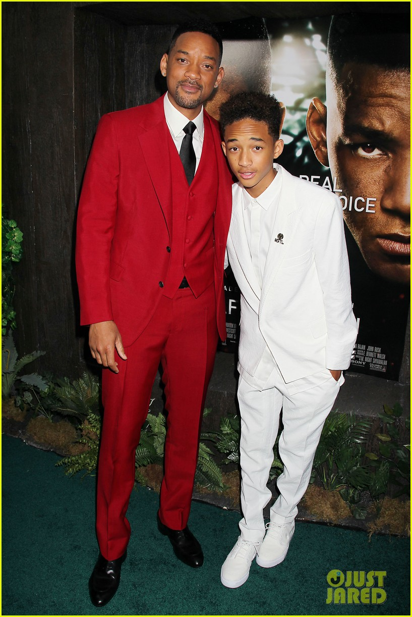 jada will smith after earth premiere with willow jada trey 282880289