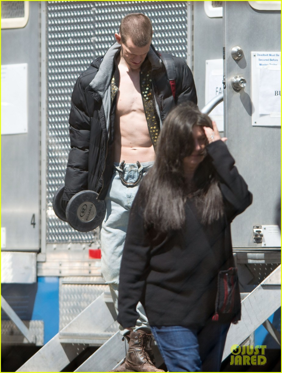 matt smith shirtless singer for how to catch a monster 022869629