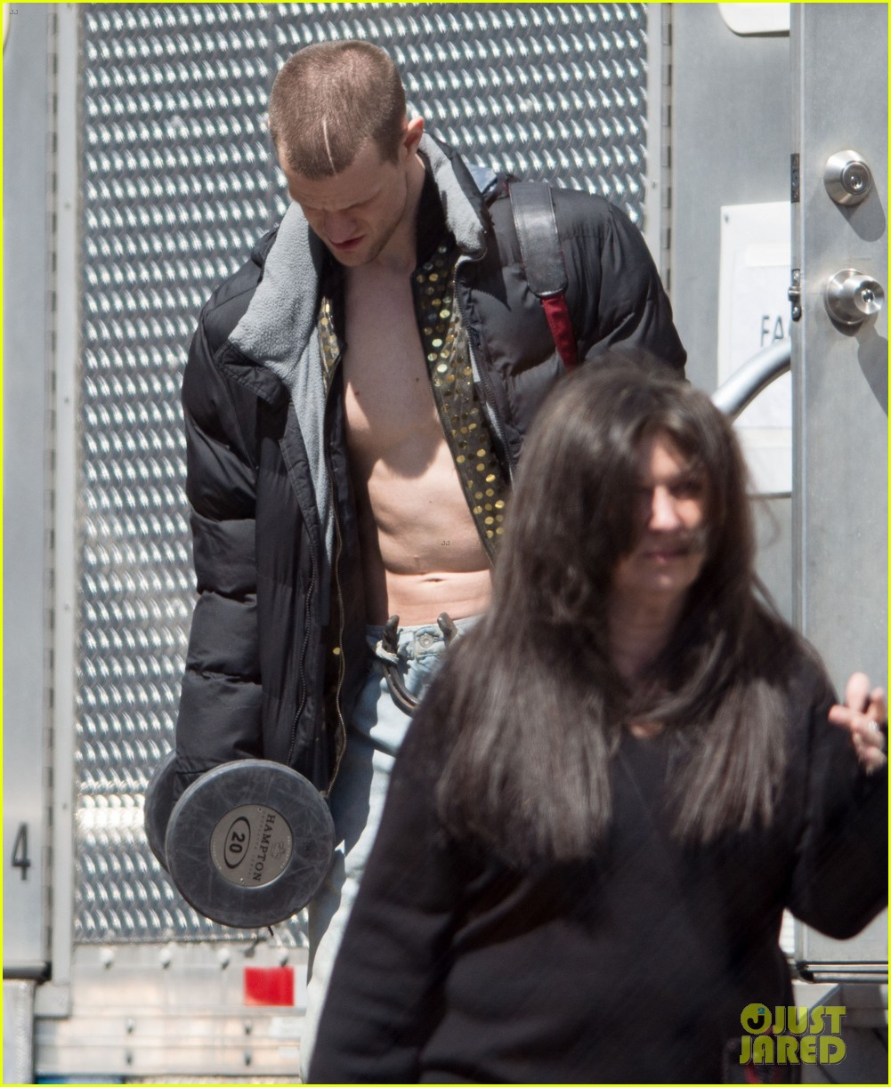 matt smith shirtless singer for how to catch a monster 13