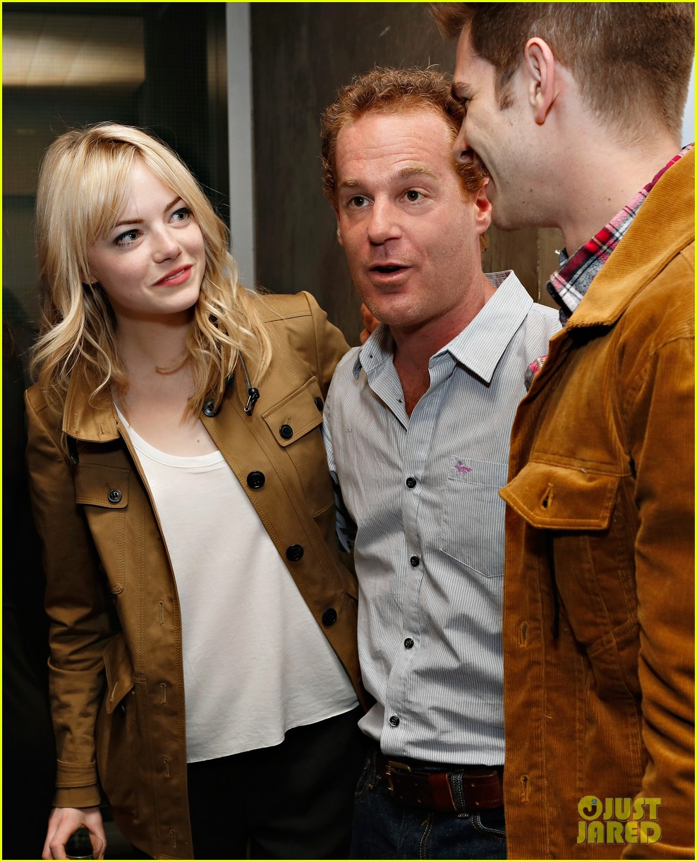 emma stone andrew garfield bull opening night 012862822