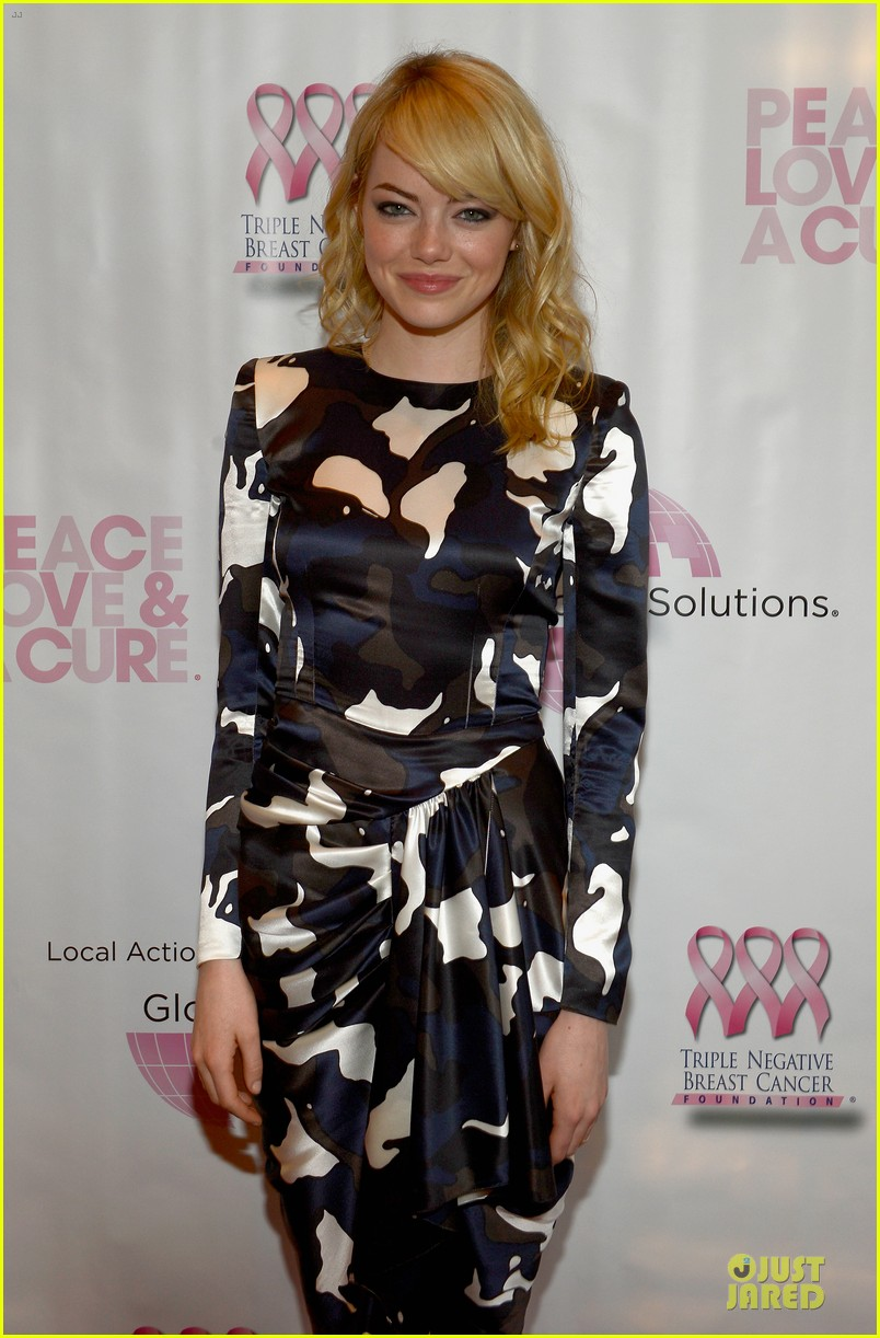 emma stone andrew garfield triple negative breast cancer foundation benefit 08