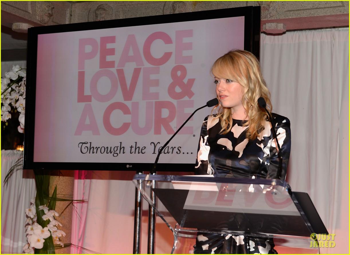 emma stone andrew garfield triple negative breast cancer foundation benefit 162875897