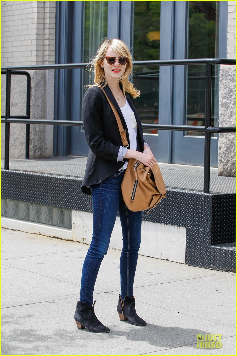 emma stone andrew garfield separate new york strolls 222872638