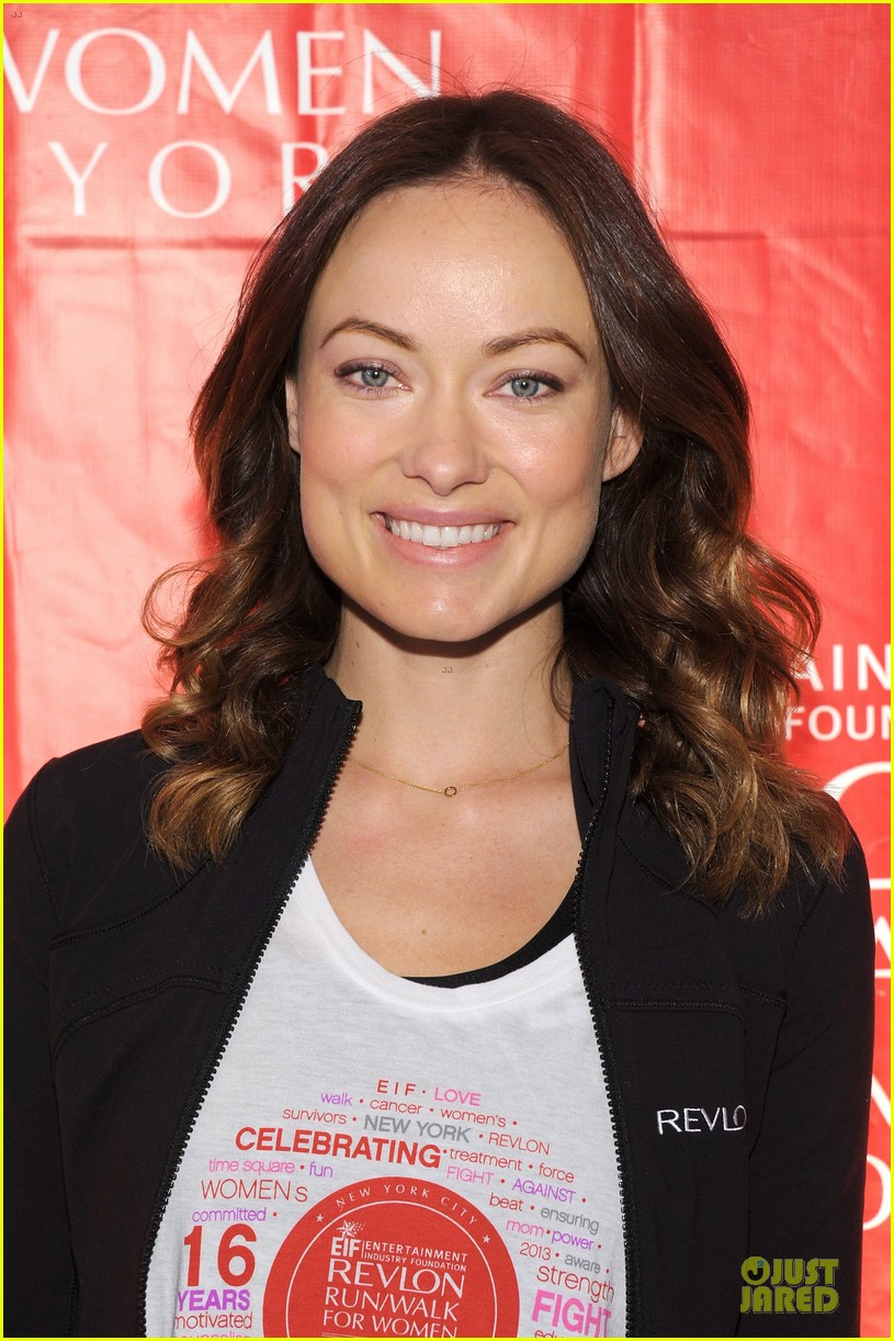 emma stone olivia wilde eif revlon run walk for women hosts 122863440