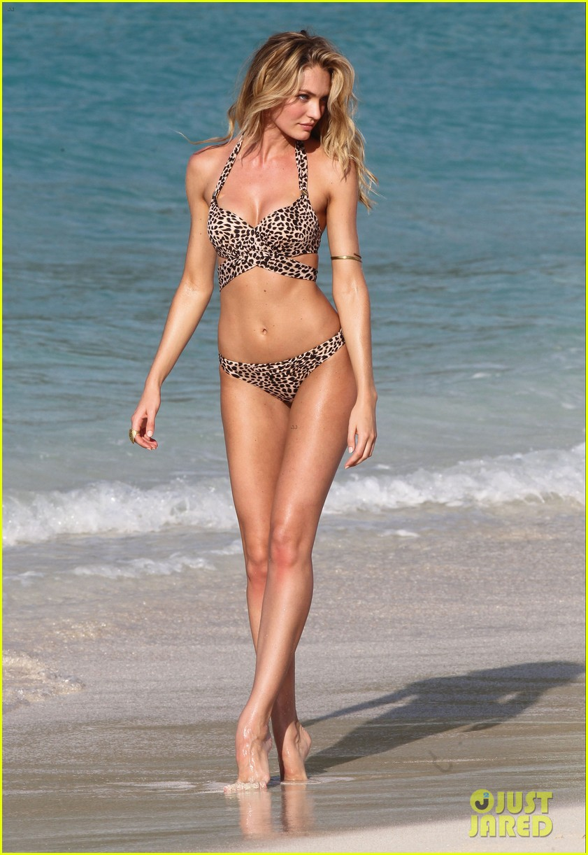 candice swanepoel in bikini photo shoot on the beach 142868731