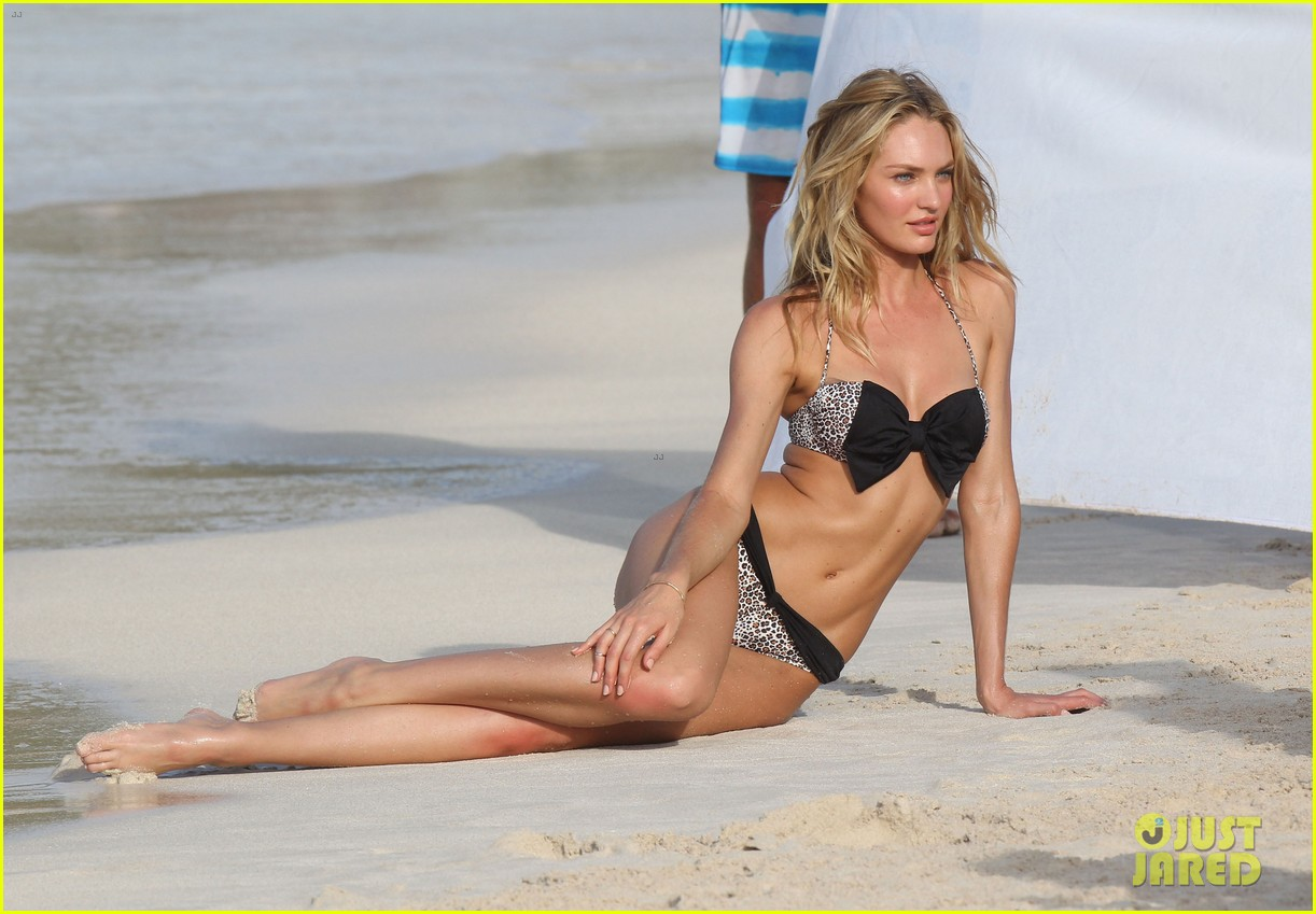 candice swanepoel in bikini photo shoot on the beach 172868734