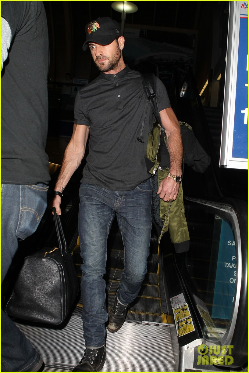 justin theroux from new york to lax 032874536