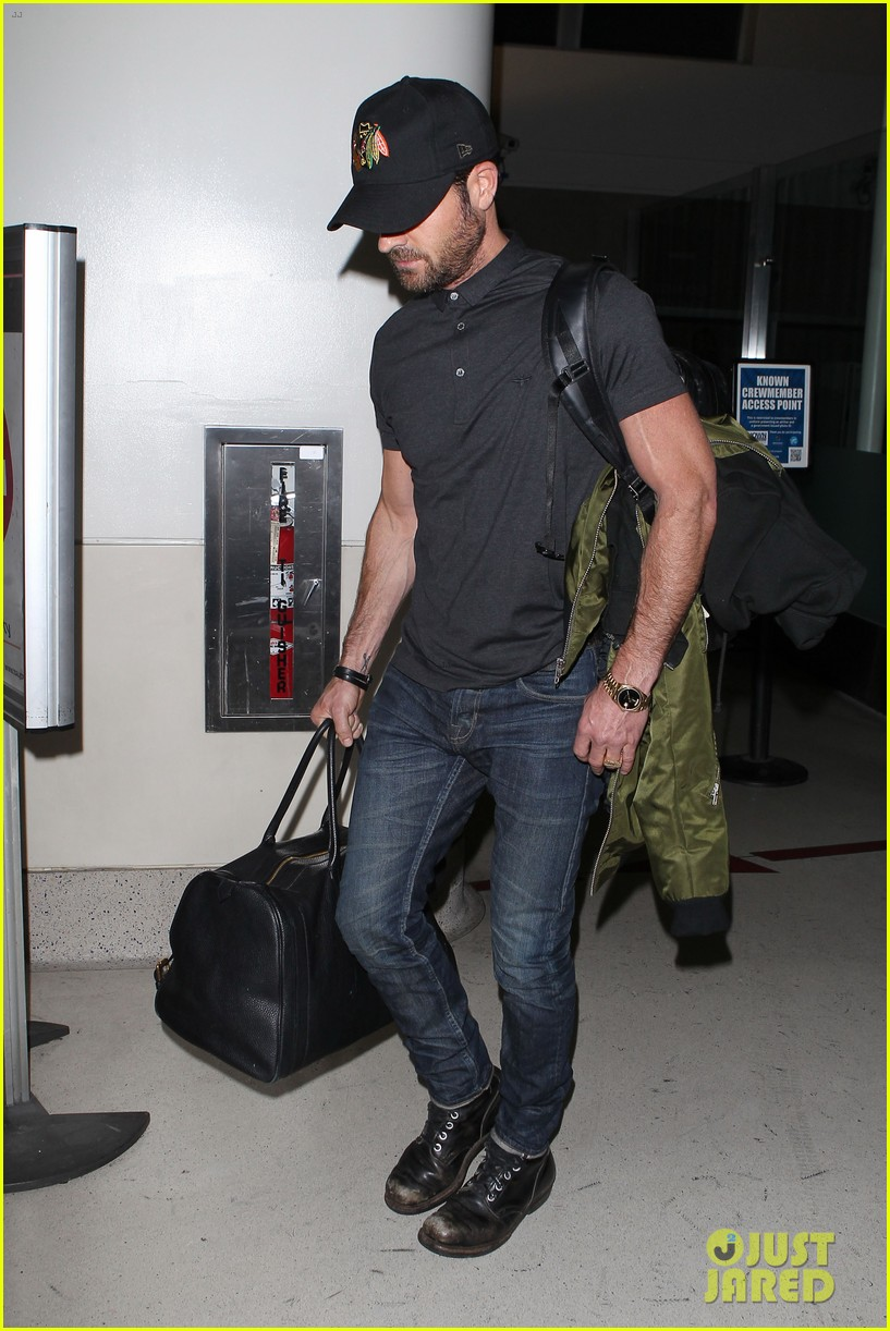 justin theroux from new york to lax 052874538