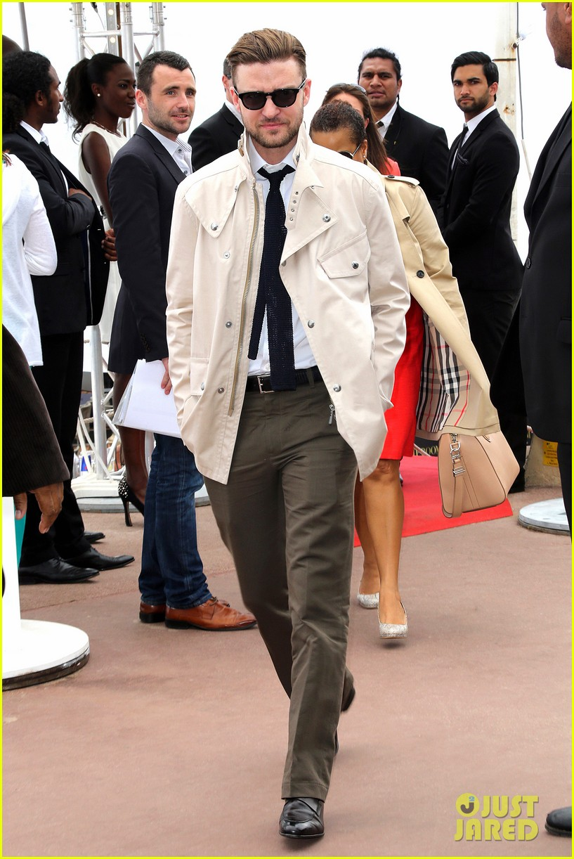 justin timberlake torch cannes spinning gold celebration 032870908