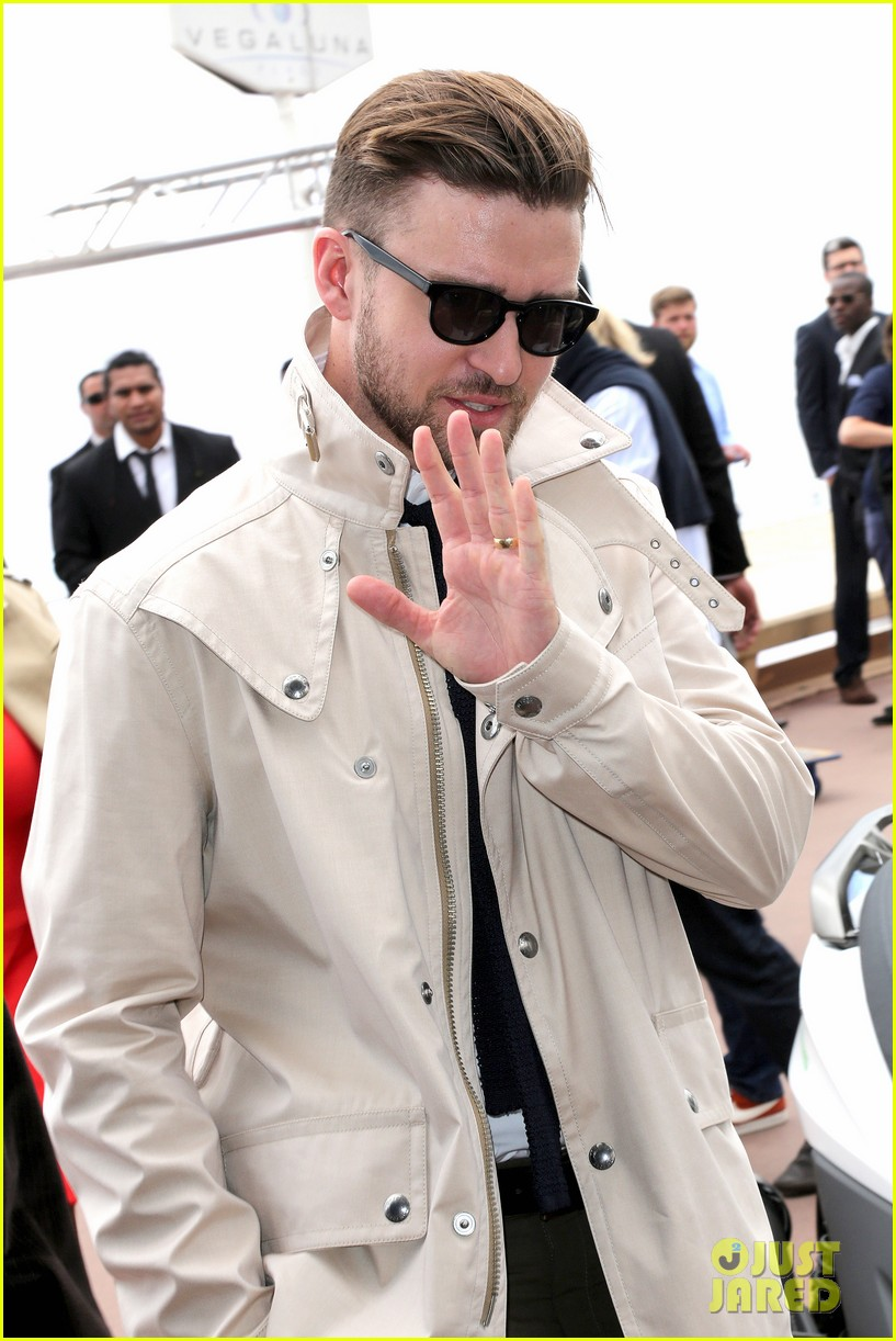 justin timberlake torch cannes spinning gold celebration 082870913