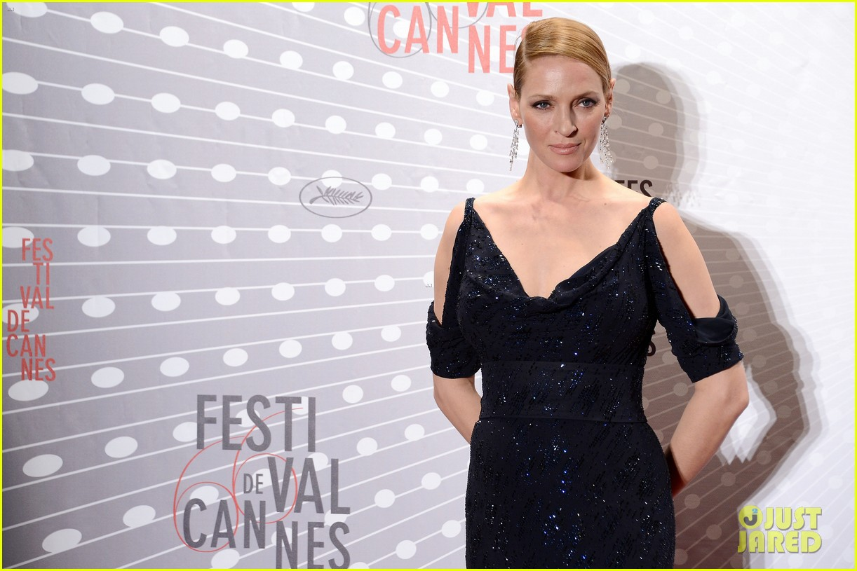 uma thurman palme d or winners dinner at cannes 18