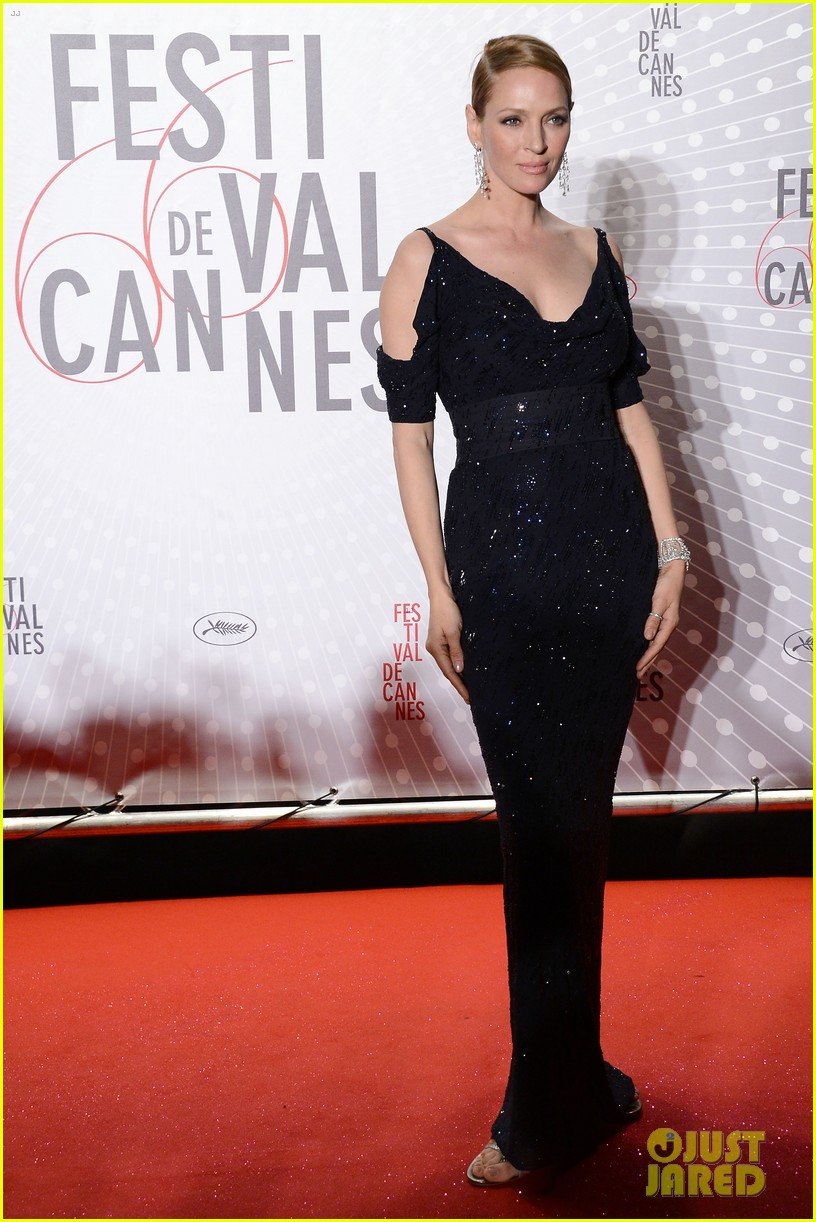 uma thurman palme d or winners dinner at cannes 23