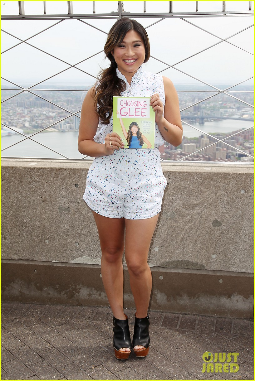 jenna ushkowitz celebrates book launch in new york 012870473