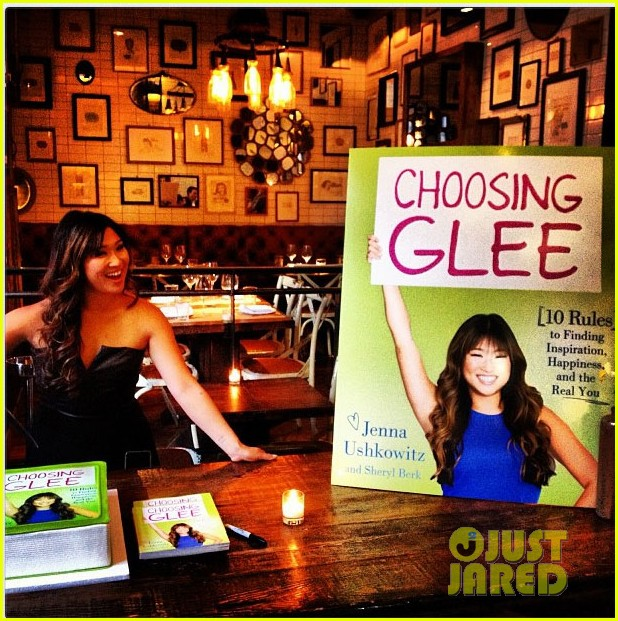jenna ushkowitz celebrates book launch in new york 032870475