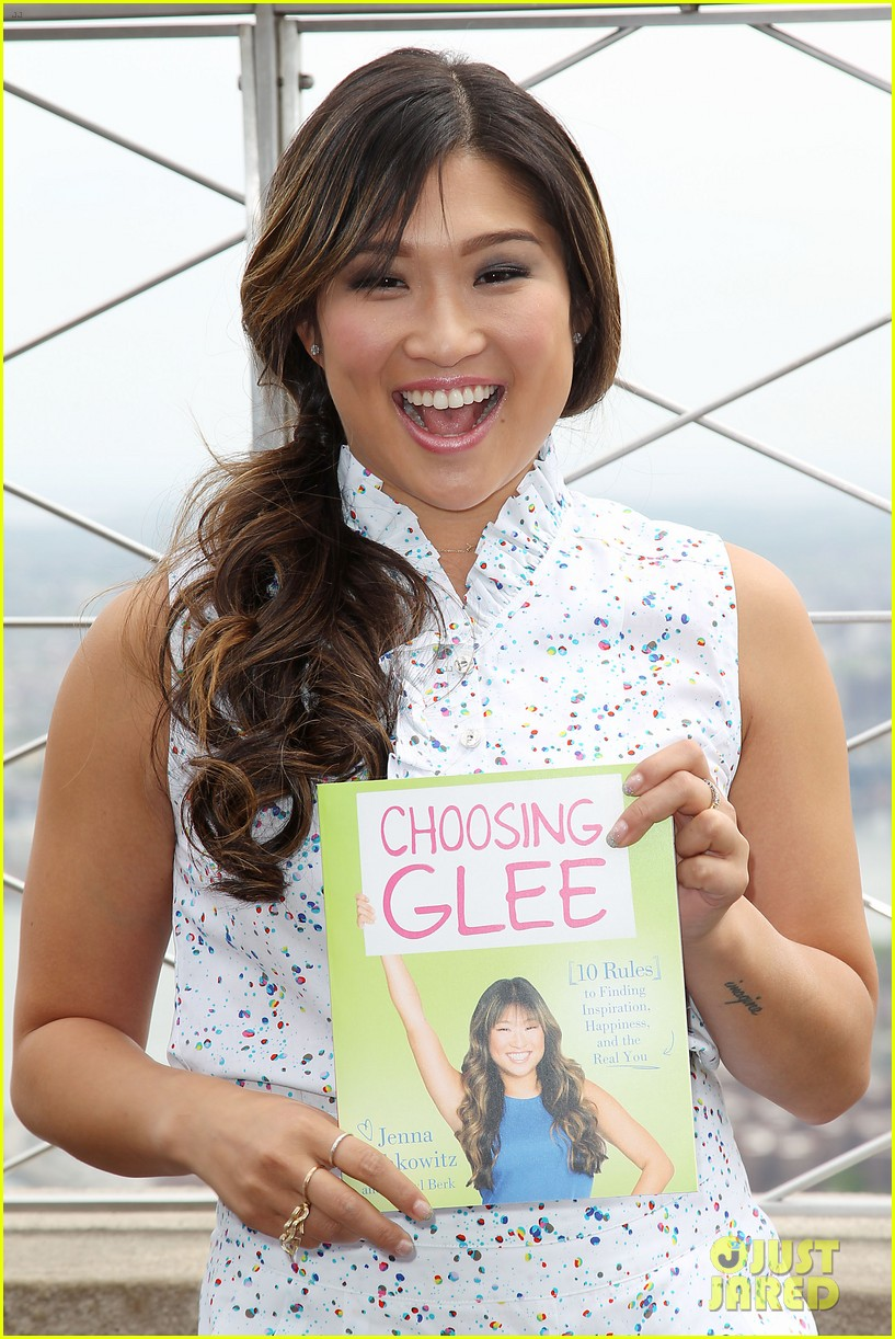 jenna ushkowitz celebrates book launch in new york 042870476