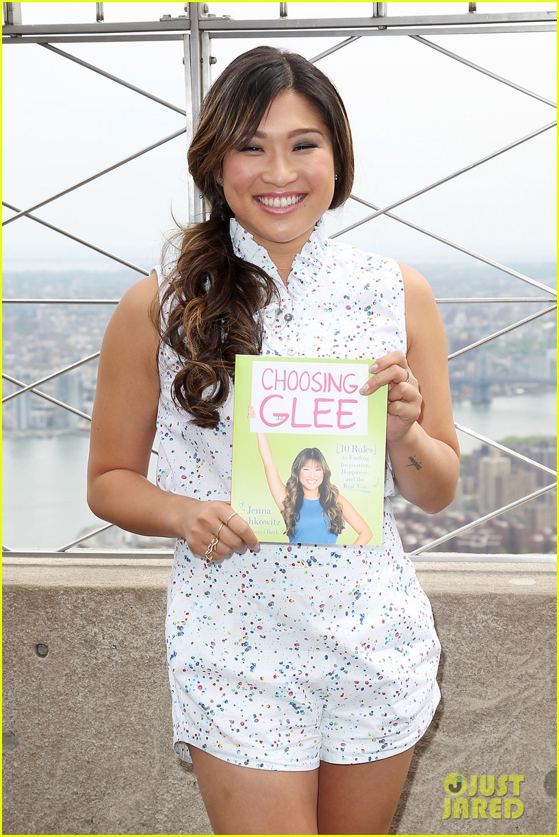 jenna ushkowitz celebrates book launch in new york 132870485