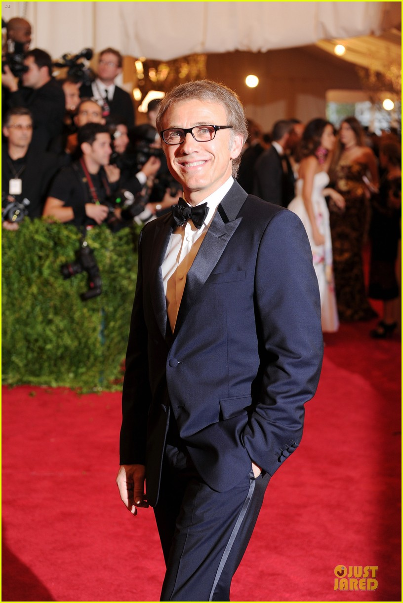 christoph waltz met ball 2013 red carpet 032865640