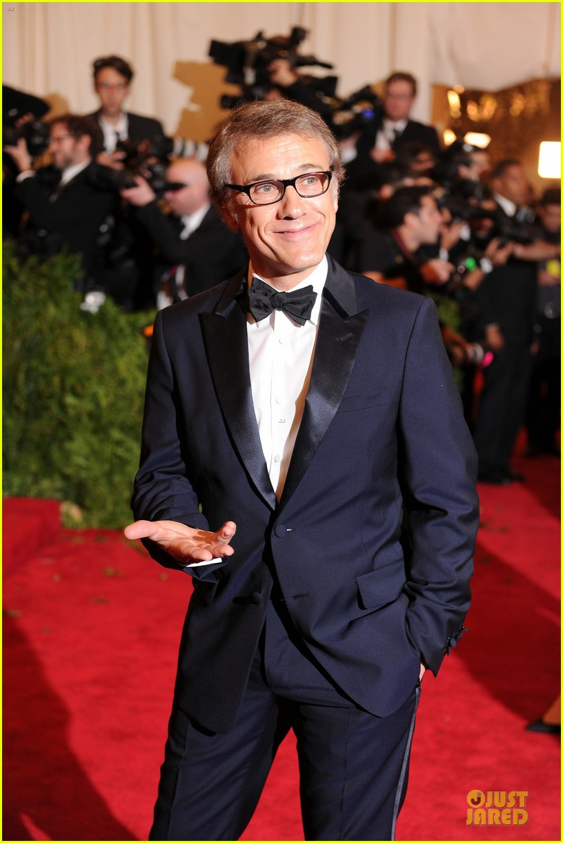 christoph waltz met ball 2013 red carpet 052865642