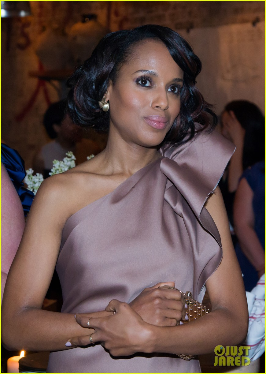 kerry washington attends elle dinner scandal finale tonight 012871485
