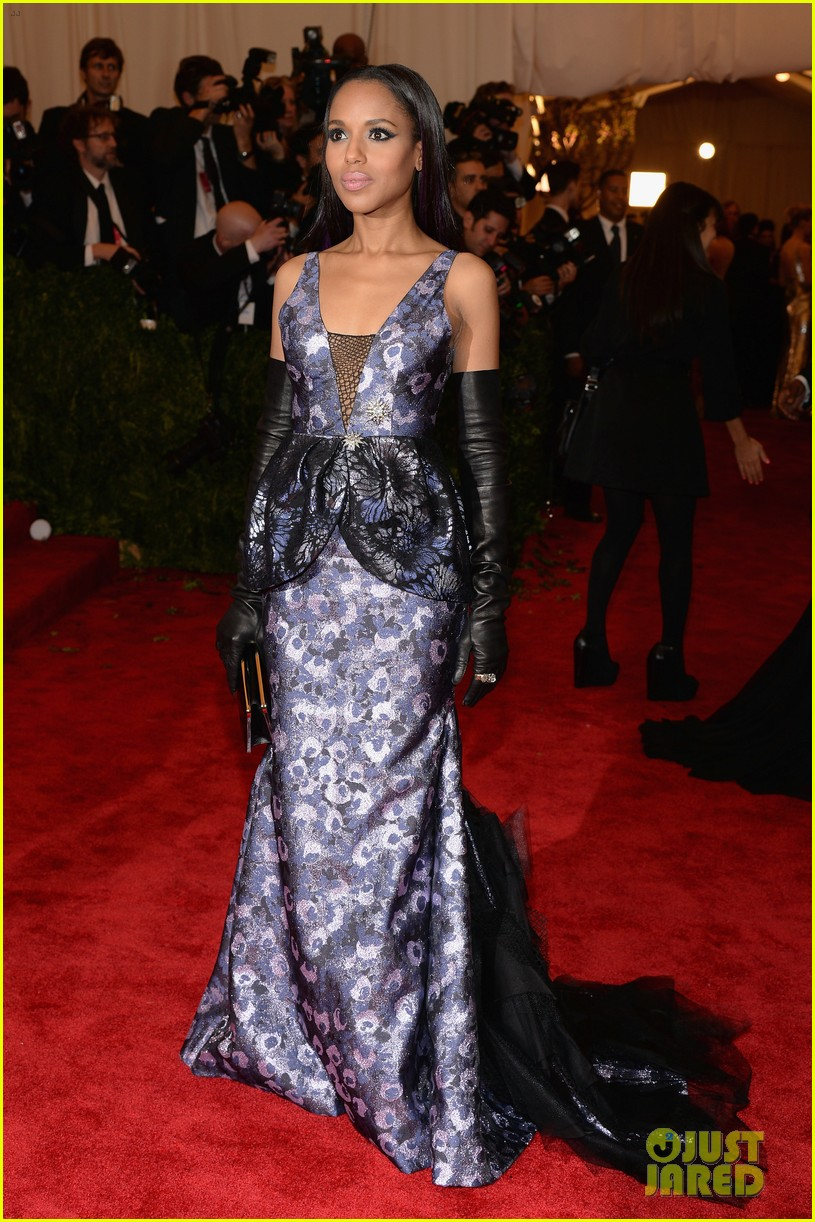 kerry washington met ball 2013 red carpet 02