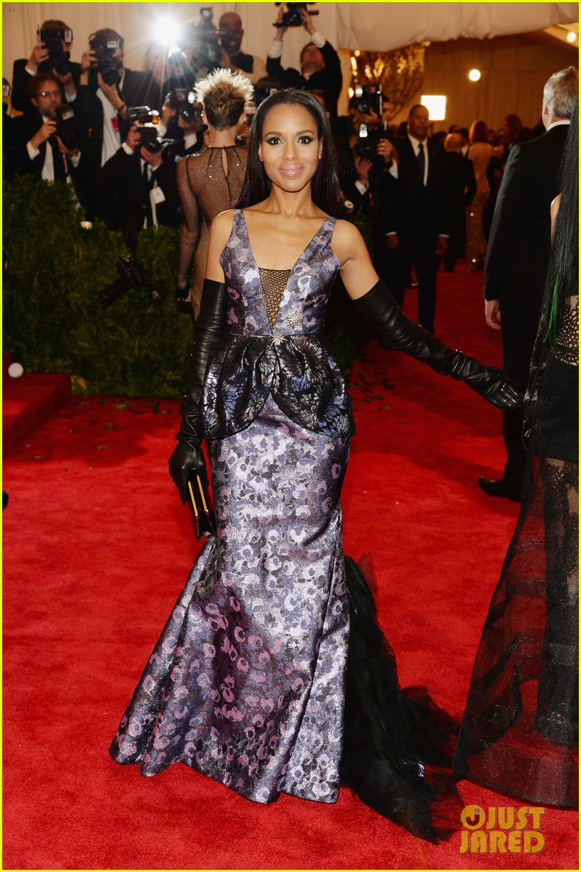 kerry washington met ball 2013 red carpet 032865184