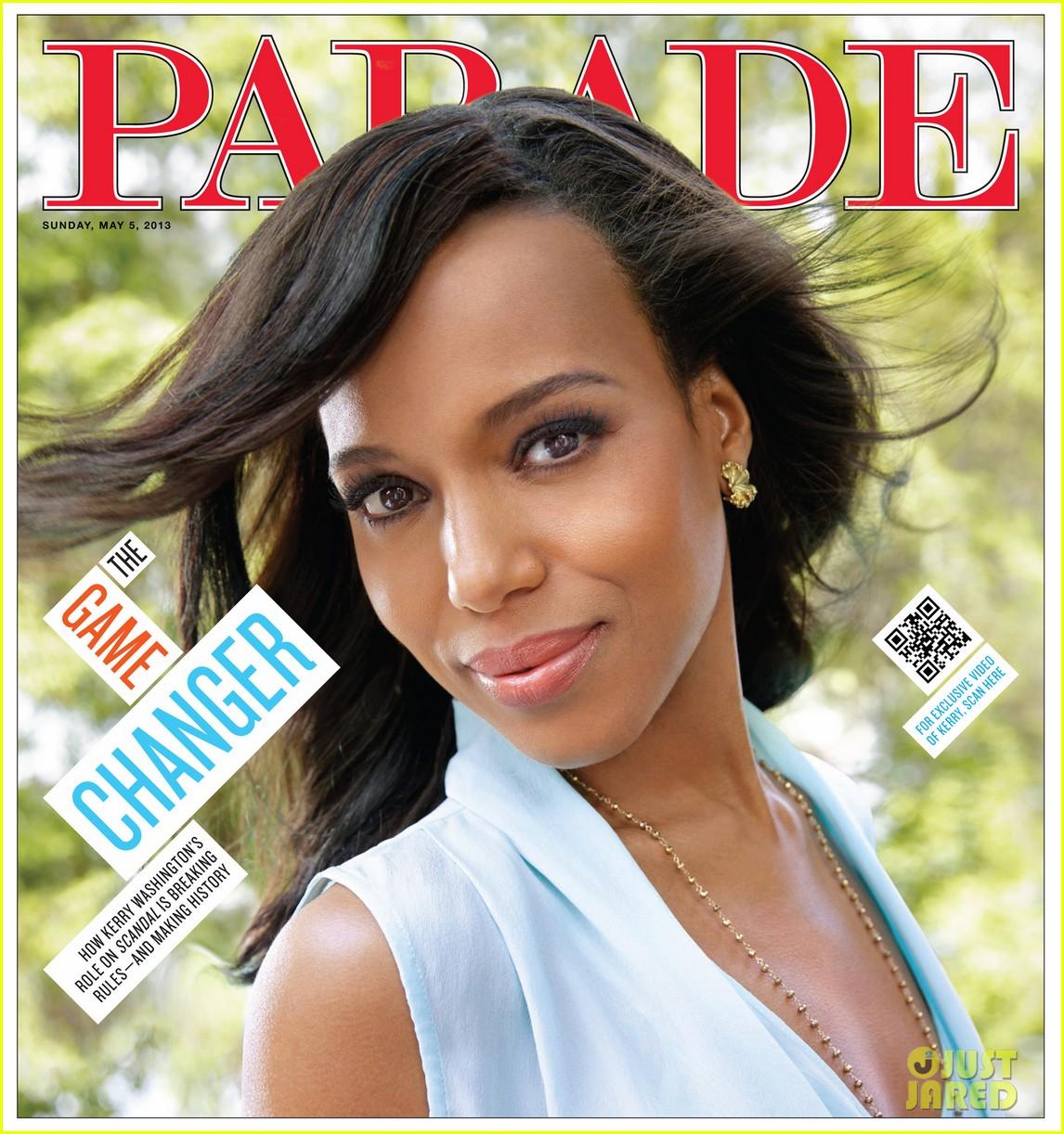 kerry washington covers parade magazine 012862463