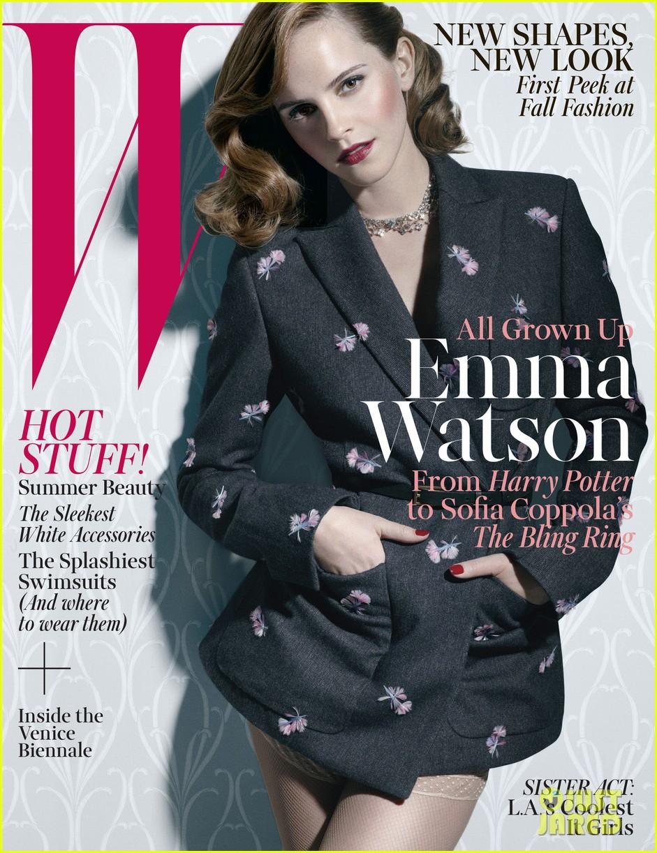 emma watson covers w magazine june july 2013 022871819