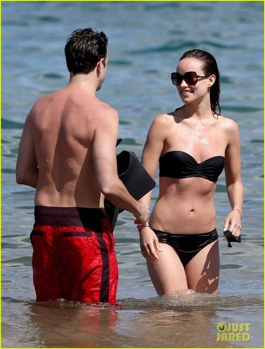 olivia wilde bikini vacation with shirtless jason sudeikis continues 022879332