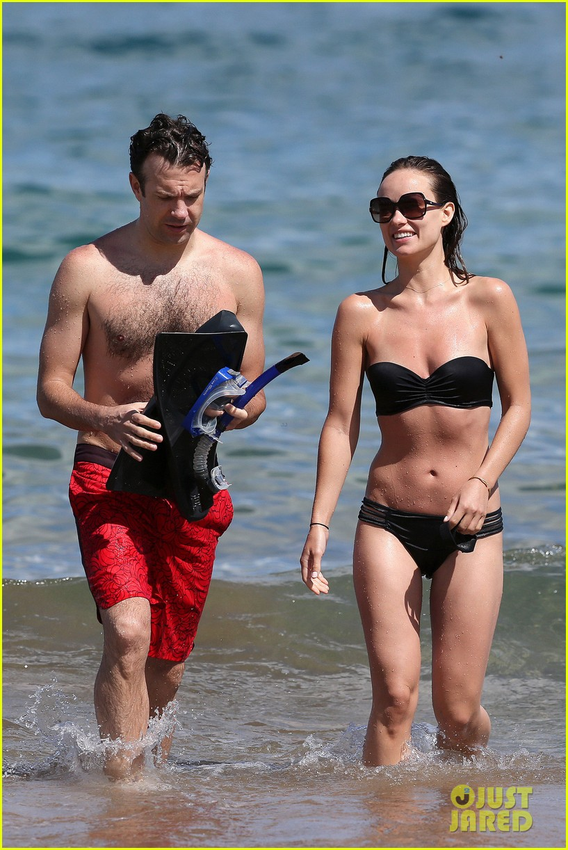 olivia wilde bikini vacation with shirtless jason sudeikis continues 142879344