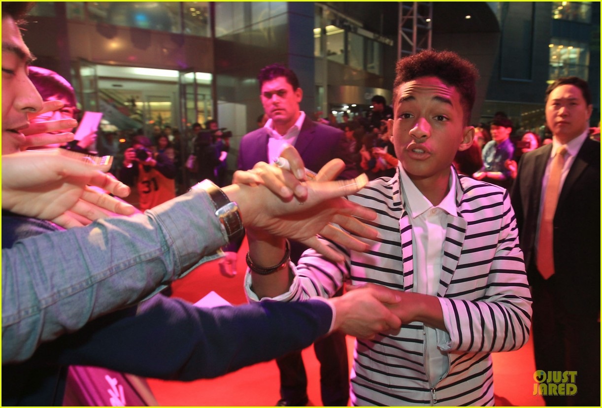 will jaden smith after earth korea premiere 072866067