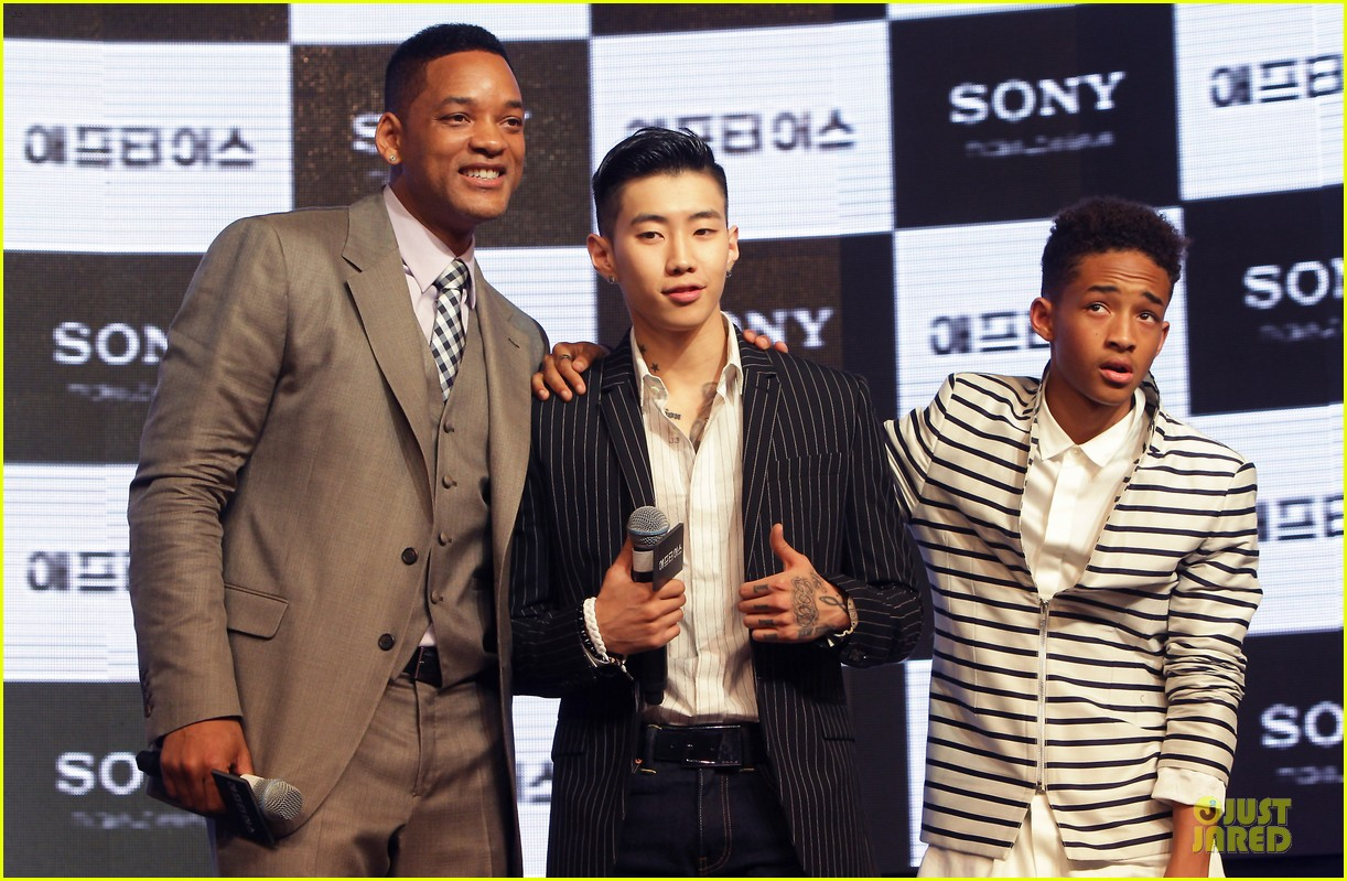 will jaden smith after earth korea premiere 092866069