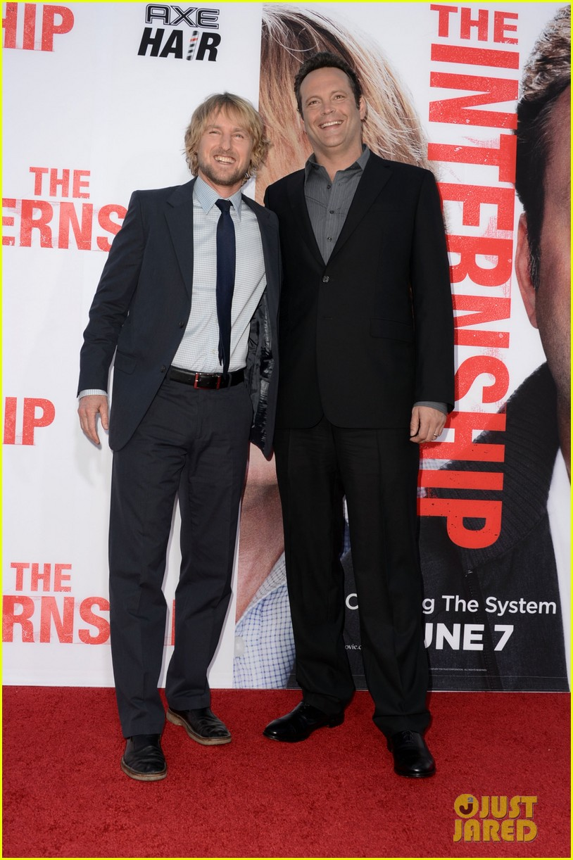 owen wilson vince vaughn the internship premiere 012880376