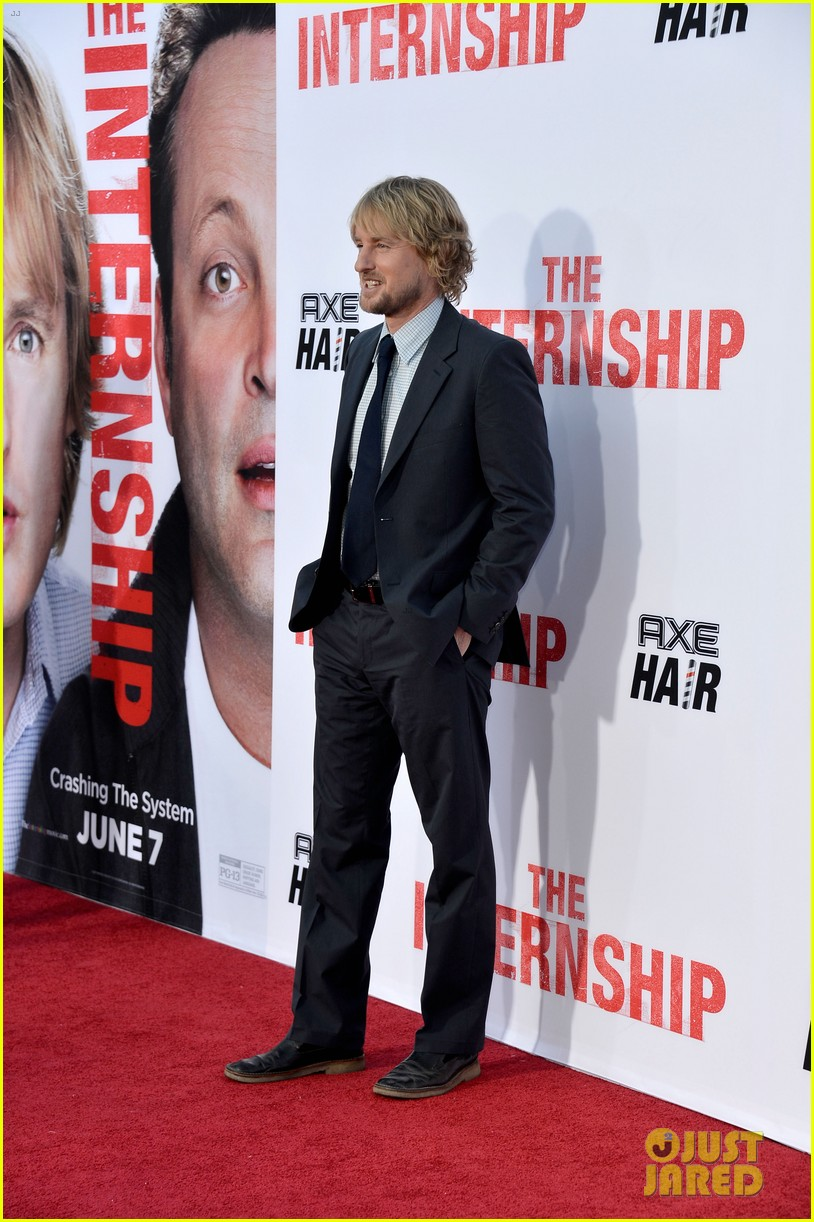owen wilson vince vaughn the internship premiere 082880383