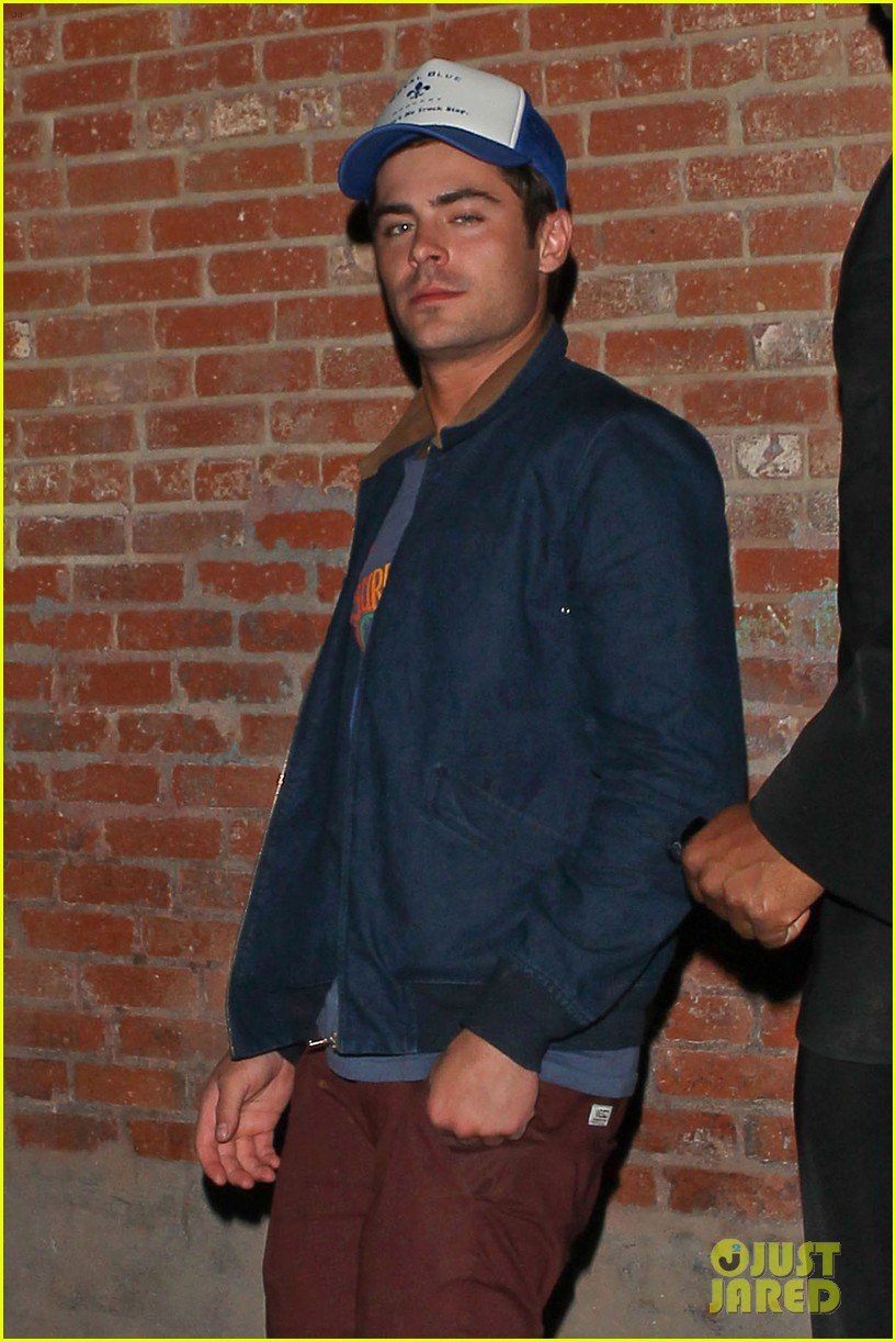 zac efron arrives at townies wrap party 132878880