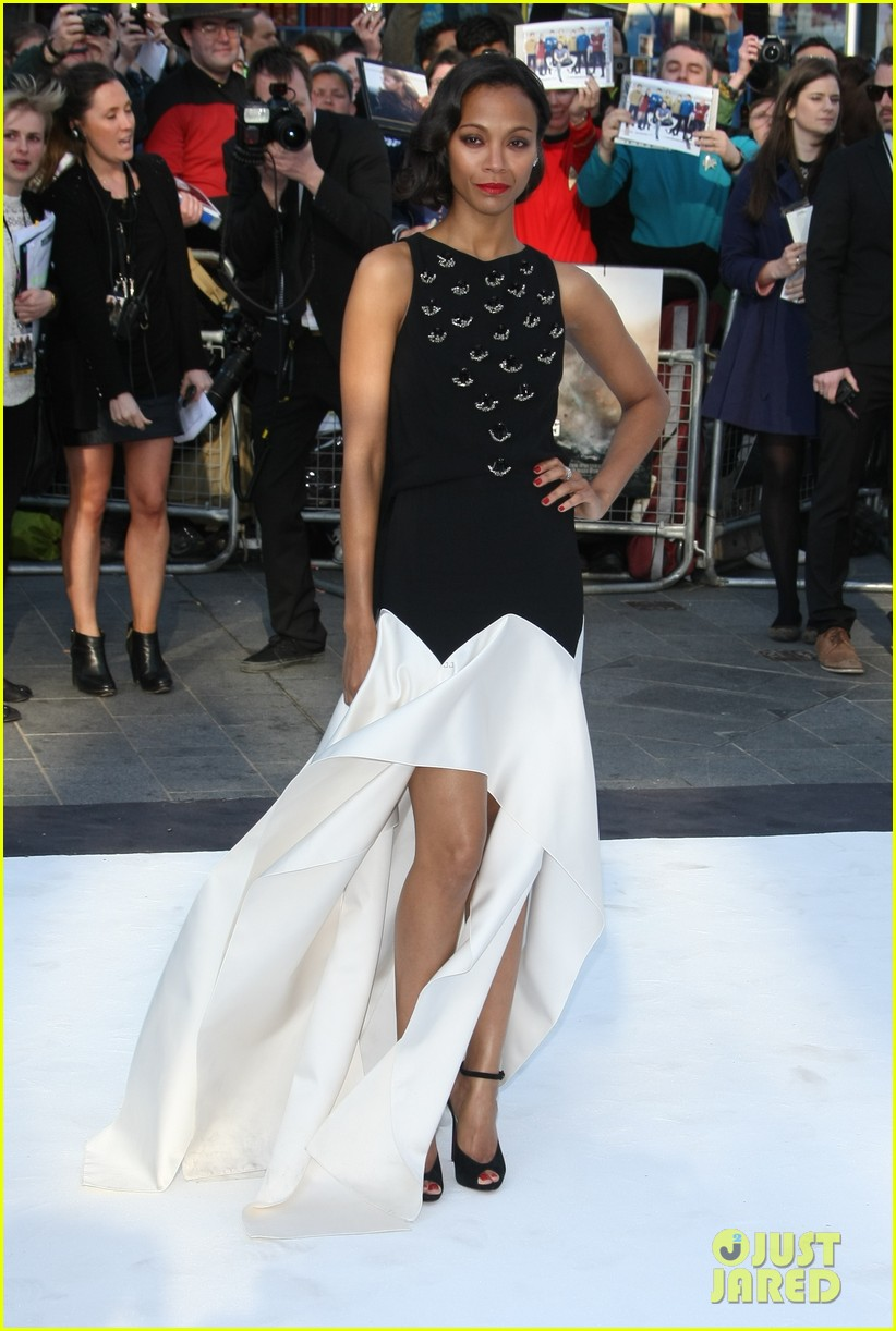 zoe saldana alice eve star trek into darkness uk premiere 062862495