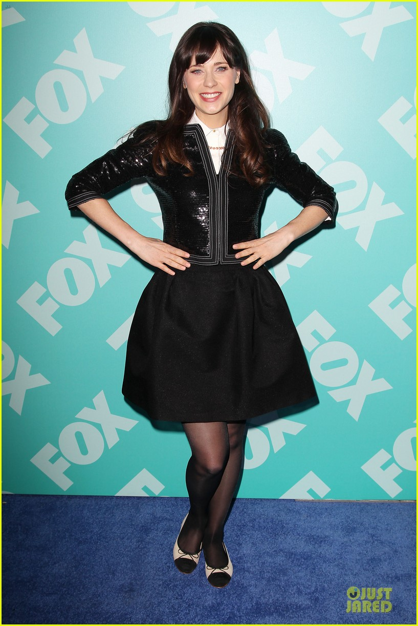 zooey emily deschanel fox upfront presentation sisters 112869933