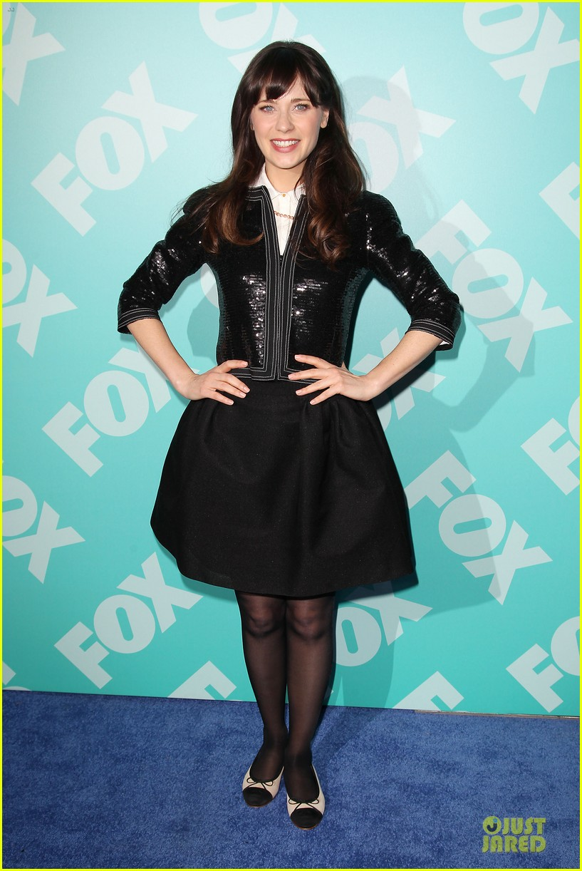 zooey emily deschanel fox upfront presentation sisters 132869935