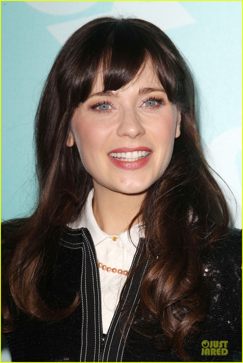 zooey emily deschanel fox upfront presentation sisters 142869936