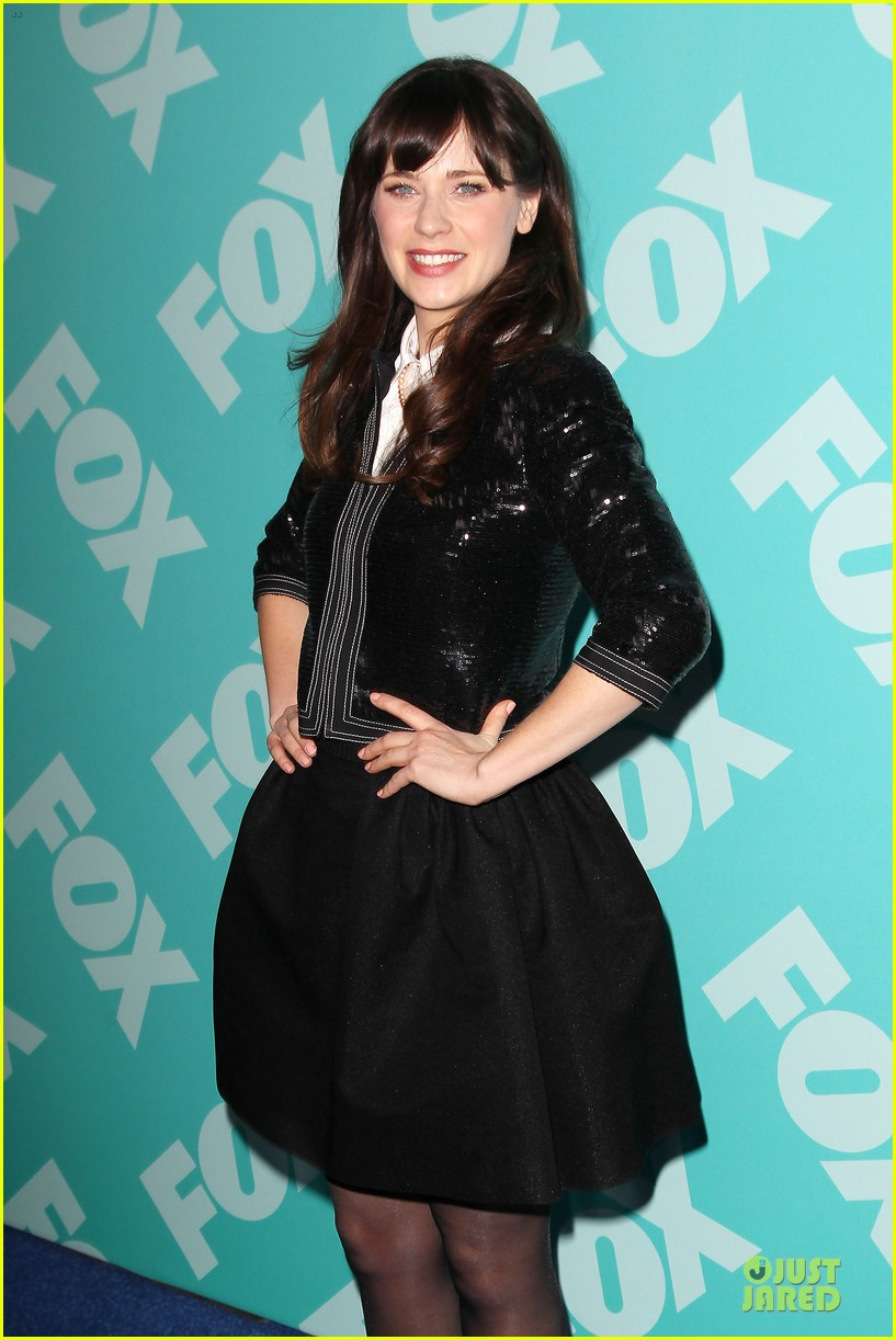 zooey emily deschanel fox upfront presentation sisters 15
