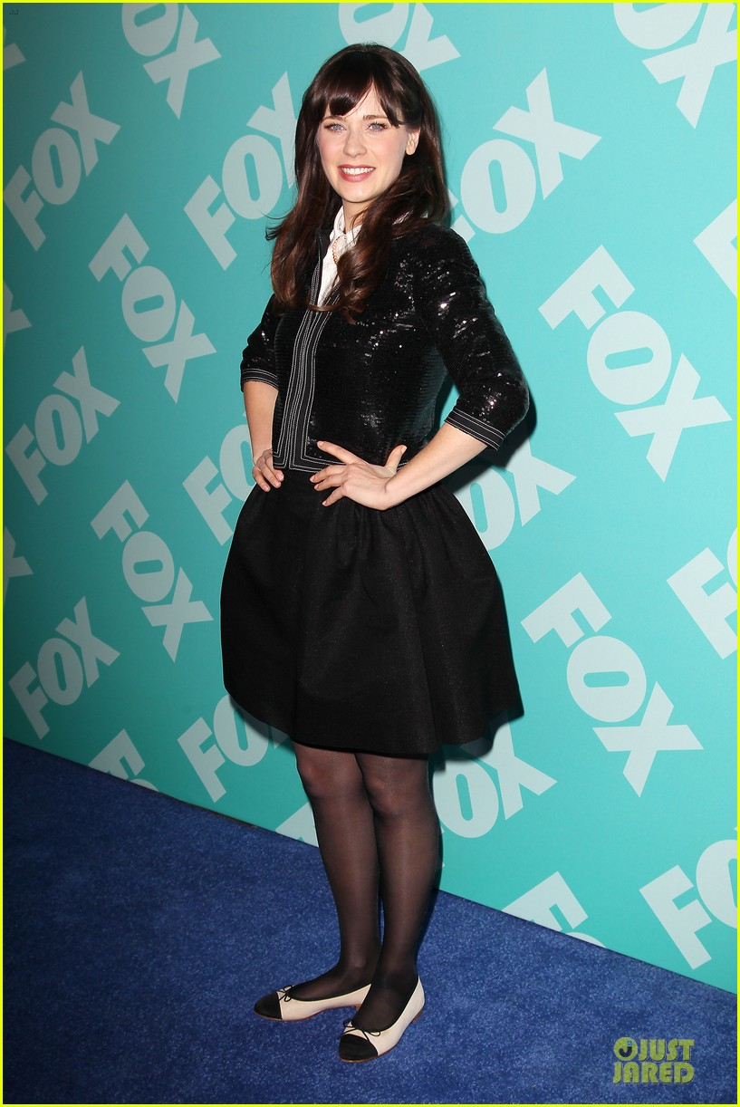 zooey emily deschanel fox upfront presentation sisters 16