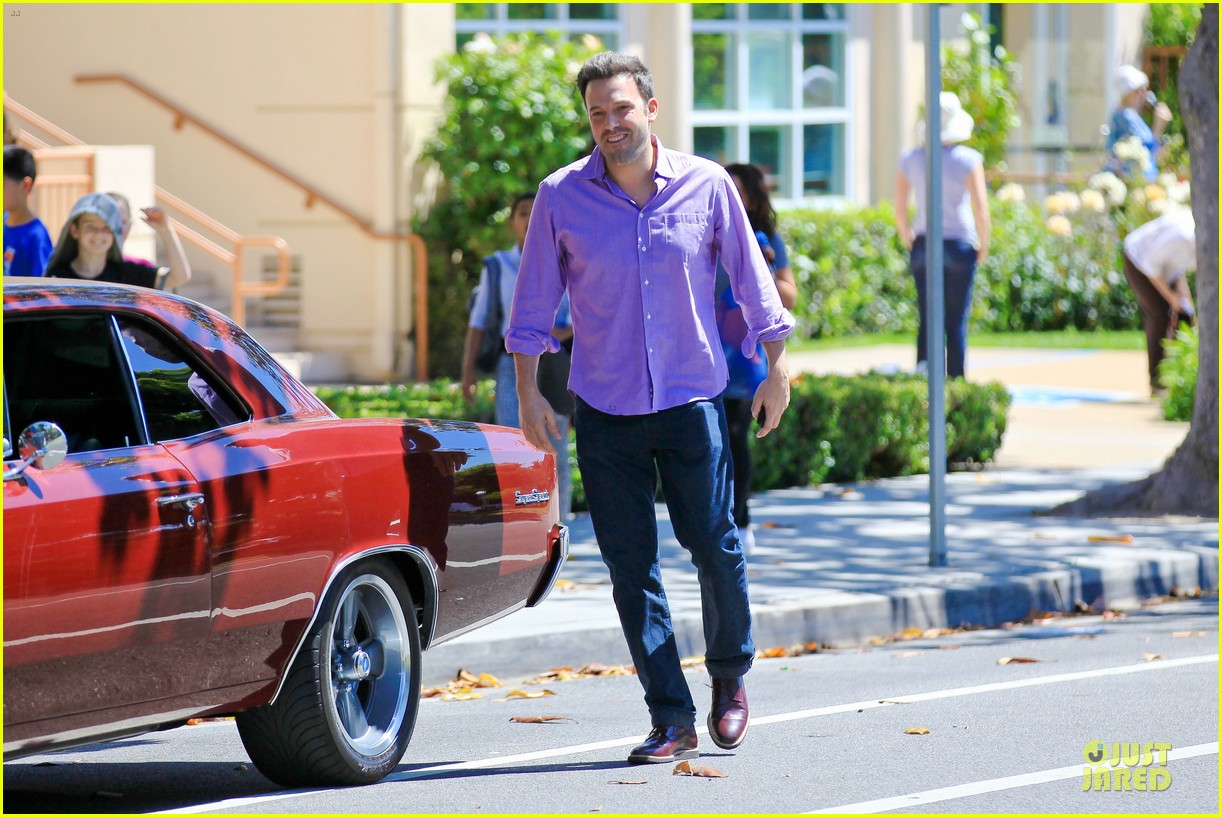 ben affleck loving dad while jennifer garner is away 122889543