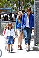 jessica alba cash warren honors kindergarten graduation lunch 10