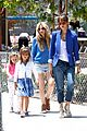 jessica alba cash warren honors kindergarten graduation lunch 11