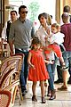 jessica alba cash warren honors kindergarten graduation lunch 29