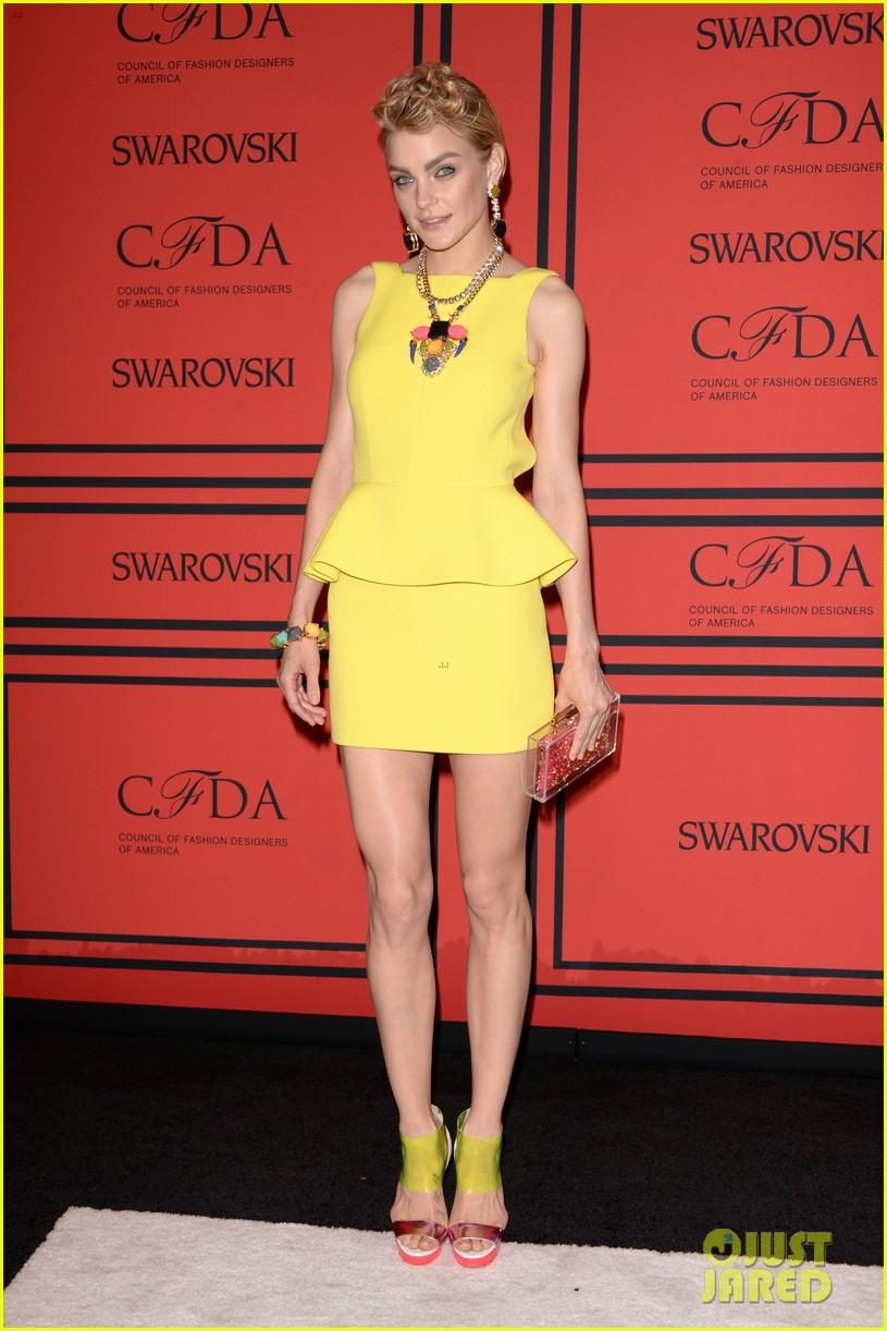 lily aldridge hilary rhoda cfda fashion awards 2013 032883810